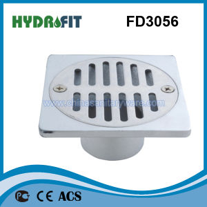 Zinc Alloy Shower Floor Drain / Floor Drainer (FD3056) pictures & photos