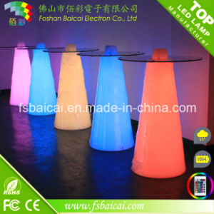 LED Illuminated Bar Table/ LED Outdoor Furniture pictures & photos