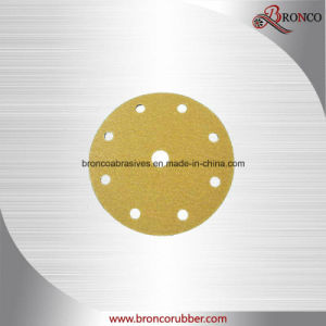 Gold Hook & Loop Disc pictures & photos