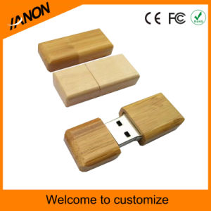 Portable Mini USB Pendrive Wooden USB Stick with Your Logo pictures & photos