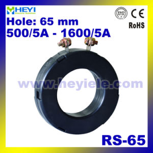 Protection Current Transformer RS-65 Instrument Current Transformer 65mm Inner Hole Cts Factory pictures & photos