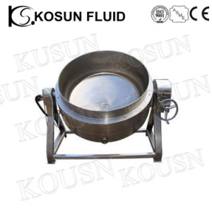304 Stainless Steel Industrial Electric Steam Jacket Kettle pictures & photos