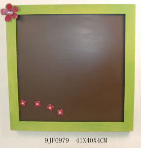 Vintage Wooden Magnet Photo Frame in Pinewood pictures & photos