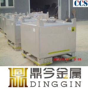 Stainless Steel Intermediate Bulk IBC Container pictures & photos
