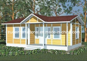 Modular/Prefabricated/Prefab House with PVC Cladding Sheet pictures & photos