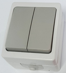 Waterproof Switch, Surface Mounted Switch, VDE Approved pictures & photos