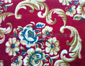 Popular Oriental Beauty Velour Printing Carpet pictures & photos