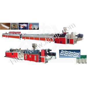 PE\PVC Shaped Material Extrusion Line