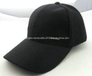 Personalized Plain Black Baseball Caps pictures & photos