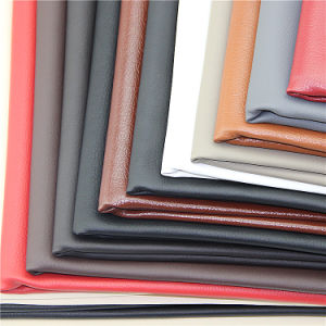 Hydrolysis Resistance PU Leather for Sofa Cover and Furniture pictures & photos