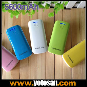 5600mAh USB Mobile Phone Portable Power Bank Battery Charger pictures & photos