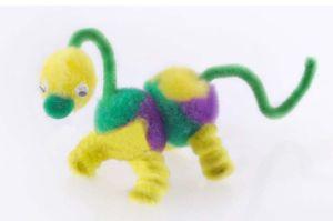 Little Dinosaur DIY Toy -Pompoms (LPP-40)