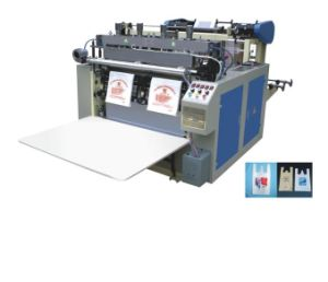 Double Line Heat Sealing and Cold Cutting Bag Making Machine pictures & photos