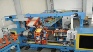 PCR Radial Single Stage Tyre Building Machine