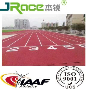Spray Coat/Sandwich/Full PU Athletic Running Track pictures & photos