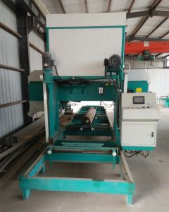 Portable Horizontal Band Saw Cutting Machine Used for Wood Planks Processing pictures & photos