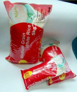 Bag of Rice for 5kg, 1kg, 500g