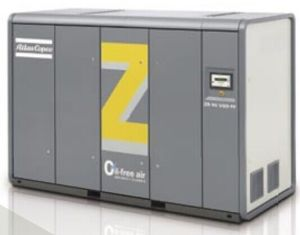 Atlas Copco Oil Free Screw Air Compressor (ZR132FF) pictures & photos