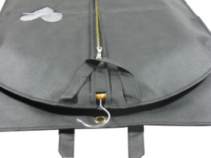 PP Non Woven Suit Garment Bag with PEVA Cover (MECO247) pictures & photos