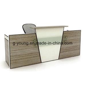 Modern Design Counter Elegant Color Selection Melamine Reception Desk Office Furniture