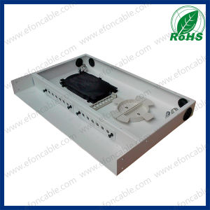 "1u 19"" Rack Mount Optical Fiber Patch Panel for Sc/FC/LC pictures & photos"