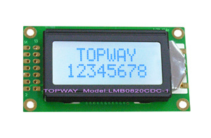 8X2 Character LCD Module Alphanumeric COB Type LCD Display (LMB0820C) pictures & photos