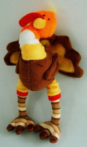 Pulling Wire Plush Toy--Turkey (900830)