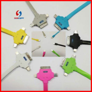 3in 1 Mobile USB Charging Cable pictures & photos