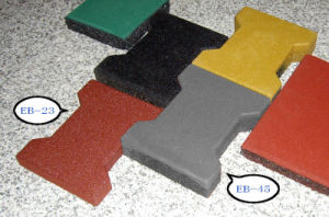 Recycled Rubber Interlock pictures & photos