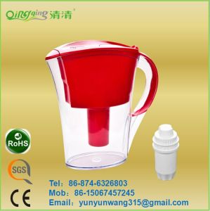 Portable Water Pitcher Kettle with Filter Cartridge pictures & photos