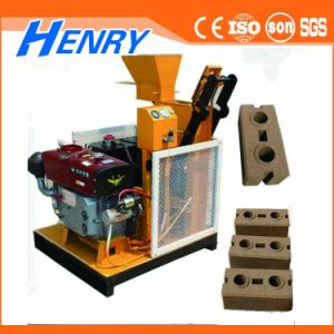 Superior Supplier Hr1-25 Semi-Automatic Road Brick Machcine Construction Equipments Clay Brick Making Machine pictures & photos