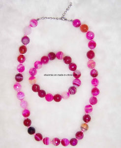 Fashion Crystal Beaded Jewellery Necklace Sets (ESB01361) pictures & photos