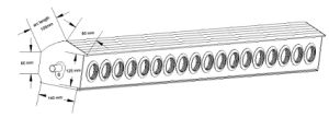 Aluminium Heat Pipe Solar Collector With Solar Keymark En12975, SRCC, CE (SB) pictures & photos