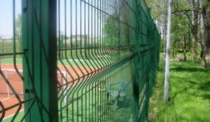 Powder Spraying Wire Mesh Fence