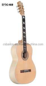 "Top Quality and Hot Sale 39"" Classical Guitar (BLC-103) pictures & photos"