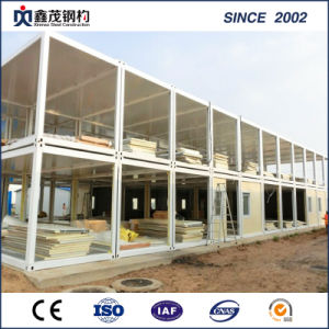 Prefab Container House Accomodations of Light Steel Structure with Easy Installation pictures & photos
