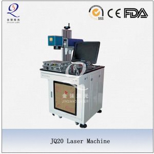 Animal Tag Mark Information Portable Fiber Laser Marking Machine pictures & photos