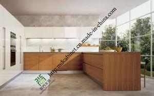 Melamine Kitchen Furniture Modern Kitchen Cabinets (ZS-393) pictures & photos