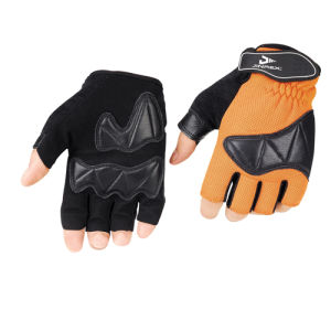 Cycling Half Finger Bike Fitness Fashion Leather Sports Glove pictures & photos
