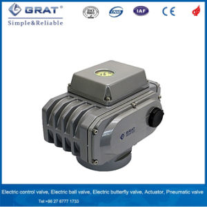 Al-Alloy High Quality Electric Control Actuator Valve pictures & photos