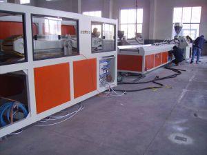 PVC and Plastic Profile Extrusion Production Line pictures & photos