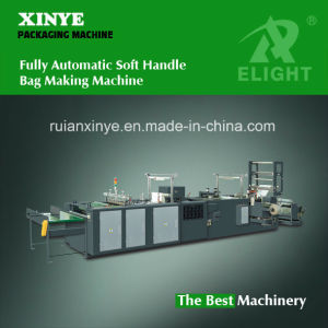 Fully Automatic Soft Handle Bag Making Machine (XY-750ZD / XY-850ZD / XY-1000ZD) pictures & photos