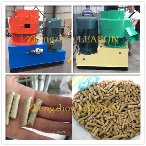 Lb-550 Vertical Ring Die Lines to Make Wood Pellets pictures & photos