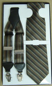Suspender with Neckties