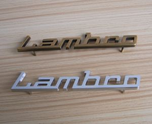 3D Lettter Metal Chrome Car Badge pictures & photos