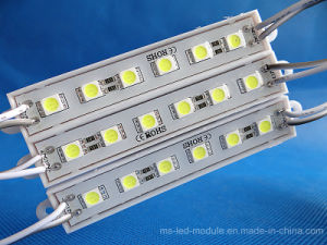 High Brightness 5054 Factory Selling DC12 Epoxy LED Module with 5pieces LED pictures & photos