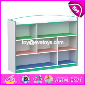High Quality Children Toy Storage Furniture Wooden Home Furniture W08c212 pictures & photos