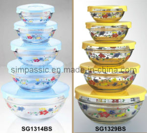 Glass Bowl Sets (5PCS) pictures & photos