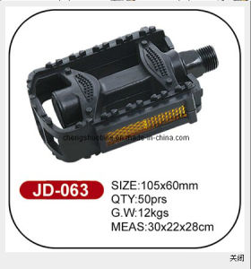 Favorable Price Black Bicycle Pedal Jd-063 pictures & photos