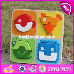 Manufacturer of New Kids Animal Toy Wooden Jigsaw Puzzle Maker W14D028 pictures & photos